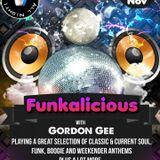 The Funkalicious Show with Gordon Gee on Cruise FM.CO.UK     SUN  11 -11-2018