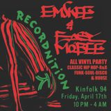 DJ EMSKEE & EASY MO BEE LATE NIGHT SETS FROM THE RECORDNITION PARTY @ KINFOLK IN BK, NYC - 4/17/15