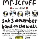 Mr Scruff live DJ mix from Band On The Wall, Manchester, Saturday December 3rd 2011