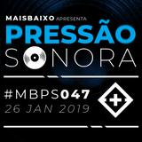 Pressão Sonora - 26-01-2019