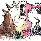 Go Hard til We Rock You (DJ Neon Zombie Dubstep Mix)