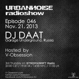 DJ DaaT - #URBANNOISEradioshow 046 Pt1 [Nov.21,2013] on STROM:KRAFT Radio
