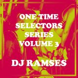 One Time Volume 3 - DJ Ramses