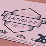 Rub-a-dub Ting! Program 28 - 28/11/2016