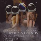 Ryan Crosson - Live @ Behrouz & Friends, Wall Lounge, WMC 2013, Miami, E.U.A. (18.03.2013)