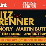Anthony Pappa - Live @ Darkbeat 12th Birthday [Melbourne] - 03-Apr-2015