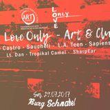 SharpEar - Live @ Burg Schnabel, Berlin - Rooftop  Deep Love Only - Art & Club (29.07.17)