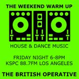 The Weekend Warmup - Sep 22 - 88.7FM Los Angeles - Alex James