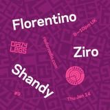 Crazylegs On Radar #9 - Florentino, Ziro & Shandy