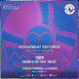 HouseBeat Radioshow #28- Ibiza Global Radio_01.10.2019 - Mixed by Zaven