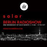 SOLAR BERLIN Radio Show #01 - on Ibiza Live Radio - by RIK-VERWEYEN
