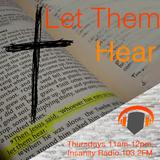 Let Them Hear on Insanity Radio 103.2FM - 26th January 2017