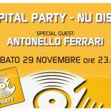 CAPITAL PARTY - NU DISCO ON RADIO CAPITAL - SPECIAL GUEST ANTONELLO FERRARI