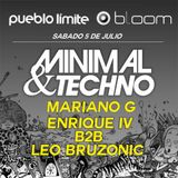 ENRIQUE IV B2B LEO BRUZONIC LIVE AT BLOOM PUEBLO LIMITE 05 -07-2K14