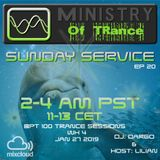 Uplifting Trance - Ministry of TRance Sunday service EP20 WK04 Jan27 2019