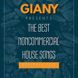 -11- GIANY - PRESENTS THE BEST NONCOMMERCIAL HOUSE SONGS OF NOVEMBER 2018