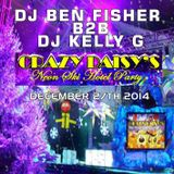 DJ Ben Fisher & DJ Kelly G @ CRAZY DAISYS - Coventry - December 27th 2014