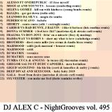 DJ ALEX C - Nightgrooves 495 dance 2019