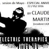 set by CLAUDE MARTINEZ (Sexto Aniversario ELECTRIC THERAPIES) MAYO 2016