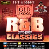 OLD SCHOOL R&B HIP HOP MIX 90'S 2000'S BY @Tickzzyy