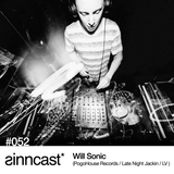 sinncast* #052 - Will Sonic (PogoHouse Records / Late Night Jackin / LV)