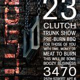 Seduce & Destroy: Squeaky Bed Playlist for Clutch Ltd. Trunk Show. Special Guest: Sloppy Train, PhD