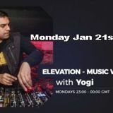 Elevation - Music with Feeling Jan 21st, 2019 The Ground Radio Show by Yogi