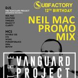 neil mac with the subfactory 12th birthday promo mix