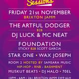 Scott Garcia (Foundation) Mix for Jamm Sessions 21.11.14