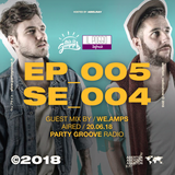 Aberton Radioshow ― Guest Mix by : We.Amps / June 20 2018 / Party Groove Radio