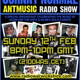 "RW081 - THE JOHNNY NORMAL ""ADAM AND THE ANTS"" SPECIAL FEATURE RADIO SHOW"