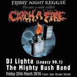 Dj Lighta Dub Set at BAND ON THE WALL. Friday Night Reggae 25.03.16