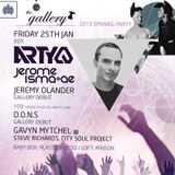 Jerome Isma-Ae - Live @ The Gallery Club, Ministry of Sound, Londres, Inglaterra (25.01.2013)