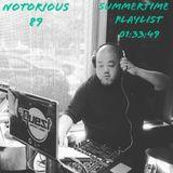 DJ QUEST NOTORIOUS 89 SUMMERTIME PLAYLIST