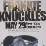 Frankie Knuckles Live Crimson Chicago 29.5.2010