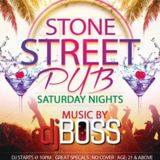 DJ BOSS - LIVE FROM STONE STREET PUB VOLUME 2
