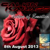 Notion of Emotion Radio 8th August 2013 on www.renegadetransmission.com