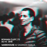 """Romain Cliff """" Sagrada Familia """" Espace Ds 14/04/18"""