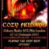 "Cozy Friday's ""Lock The City Edition"" Galaxy Radio 102.5fm London 23rd February 2018"