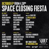 Josh Wink - Live @ Closing Fiesta Space Ibiza (Spain) 2013.10.06.