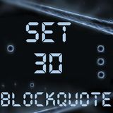 Blockquote - No. 30 - House & Electro (01-02-2012)