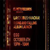 Layo & Bushwacka! @ Egg, London UK - 06.10.2012