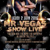 Duss Ova Sound aka 220 Sound - Mr. Vegas Show Promo Mix