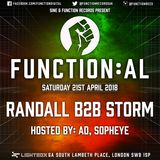 Function:AL April 2018 @ Lightbox - Randall B2B Storm - Hosted by Sopheye and MCAD