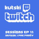 Kutski Twitch Sessions Ep11 (Defqon.1 Pre Party)