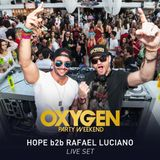 HOPE b2b Rafael Luciano @ Café de La Musique Jurerê - Oxygen Party Weekend 2 Anos