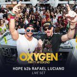 HOPE b2b Rafael Luciano @ Café de La Musique Jurerê - Oxygen Party Weekend 2 Anos