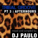 DJ PAULO-TRIBAL GROOVE Pt 3 (AFTERHOURS) Summer 2018