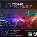 Akasha Vibes - 5to Aniversario de Psyteck Promotora - Guatemala may 2015