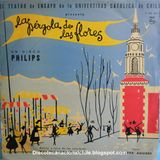 Teatro Ensayo UC: La Pérgola de las flores. P 630 500 L. Philips. 1960. Chile